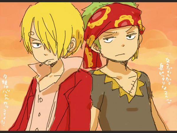 Tags: Anime, yukke, ONE PIECE, Strong World, Sanji, Roronoa Zoro, Straw Hat Pirates
