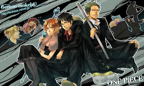 Tags: Anime, Tsukasa, ONE PIECE, Strong World, Brook, Nico Robin, Tony Tony Chopper, Franky, Monkey D. Luffy, Sanji, Usopp, Nami (ONE PIECE), Roronoa Zoro