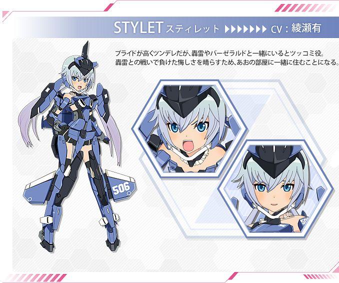 Stylet (Frame Arms Girl) - Frame Arms Girl