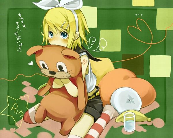 Tags: Anime, Pixiv Id 335456, VOCALOID, Kagamine Rin, Su-Su-Su-Su Suki Daisuki, I Like You I Love You