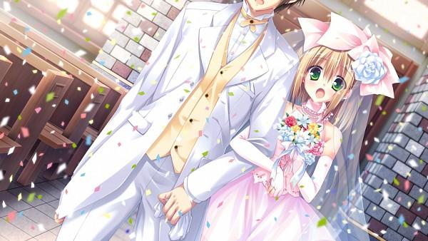 Tags: Anime, Hooksoft, SuGirly Wish, Shirosaki Junpei, Shirosaki Hina, Wallpaper, CG Art