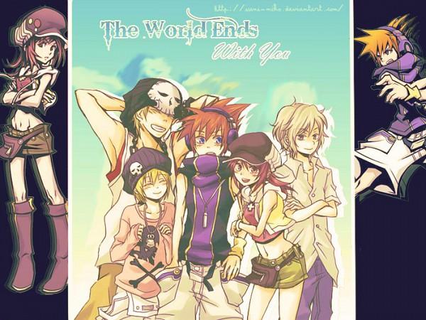 Tags: Anime, SQUARE ENIX, Subarashiki Kono Sekai, Neku Sakuraba, Raimu Bito, Yoshiya Kiryu, Shiki Misaki, Daisukenojo Bito, deviantART, The World Ends With You