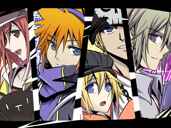 Tags: Anime, Meru-chan, SQUARE ENIX, Subarashiki Kono Sekai, Shiki Misaki, Yoshiya Kiryu, Neku Sakuraba, Raimu Bito, The World Ends With You