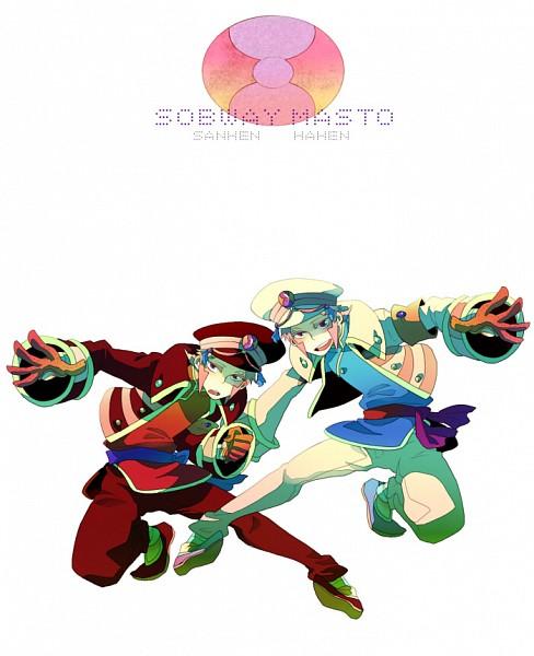Tags: Anime, Gline, Pokémon, Nobori, Kudari, Text: Character Group Name, Pixiv, Subway Masters