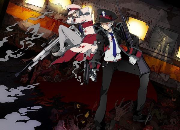 Tags: Anime, Wonagi, Pokémon Black & White, Pokémon, Nobori, Kudari, Pixiv, Fanart From Pixiv, Fanart, Subway Masters