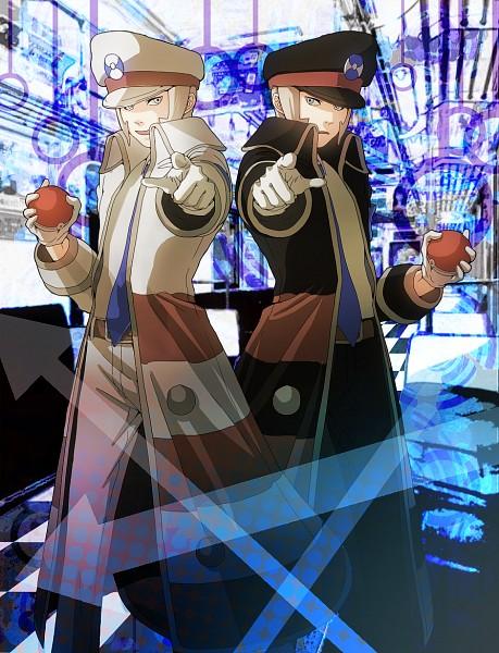 Tags: Anime, Pixiv Id 2626667, Pokémon, Nobori, Kudari, Subway Masters