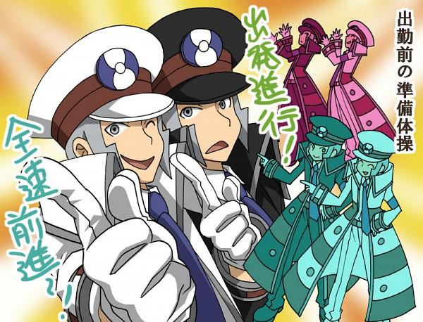 Tags: Anime, Pixiv Id 3286183, Pokémon, Nobori, Kudari, Subway Masters