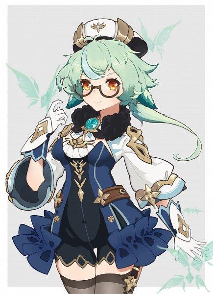 Tags: Anime, Pixiv Id 27942126, Genshin Impact, Sucrose, Fanart From Pixiv, Pixiv, Fanart