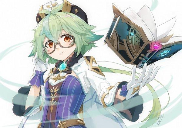 Tags: Anime, Miri (Ago550421), Genshin Impact, Sucrose, Pixiv, Fanart, Fanart From Pixiv
