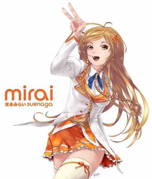 Tags: Anime, saiki2, Suenaga Mirai, Orange Skirt, Fanart, Fanart From Pixiv, Culture Japan, Pixiv