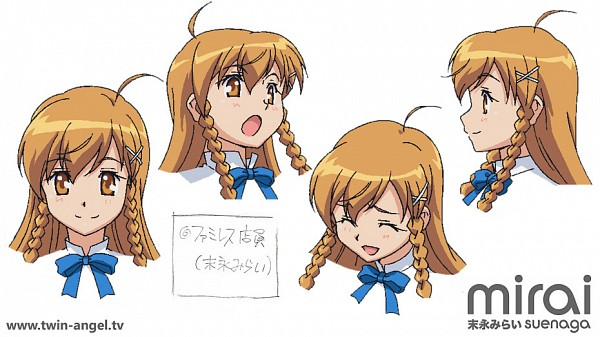 Tags: Anime, Kaitou Tenshi Twin Angel, Suenaga Mirai, Sketch, Culture Japan