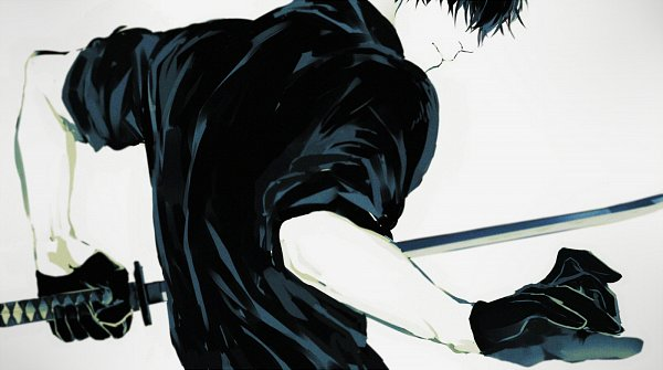 Tags: Anime, Pixiv Id 3351039, Kirisame ga Furu Mori, Suga Kotaro, Upscale, Pixiv, Fanart, Fanart From Pixiv
