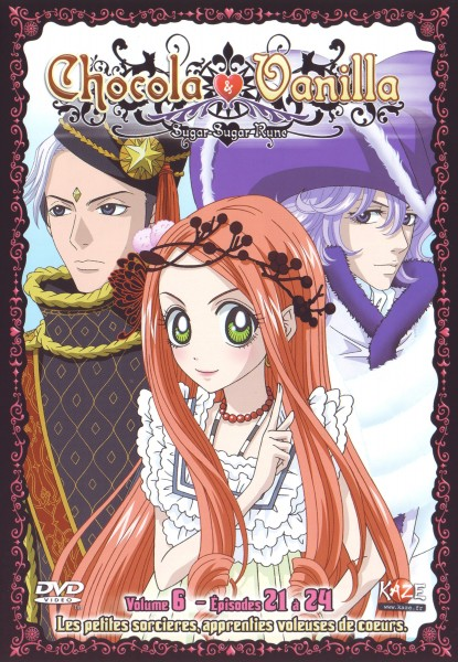 Tags: Anime, Sugar Sugar Rune, Rockin Robin, Chocolat Meilleure, Glacier (Sugar Sugar Rune), French Text, DVD (Source), Scan, Official Art