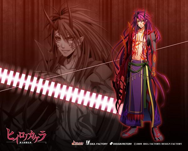 Tags: Anime, IDEA FACTORY, Hiiro no Kakera: Shin Tamayori Hime Denshou, Official Wallpaper, Wallpaper, Official Art