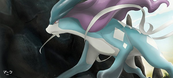 Tags: Anime, Pokémon, Suicune, deviantART, Facebook Cover, Fanart, Legendary Pokémon