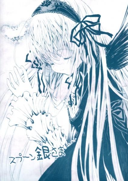 Tags: Anime, Rozen Maiden, Suigintou, Fanart