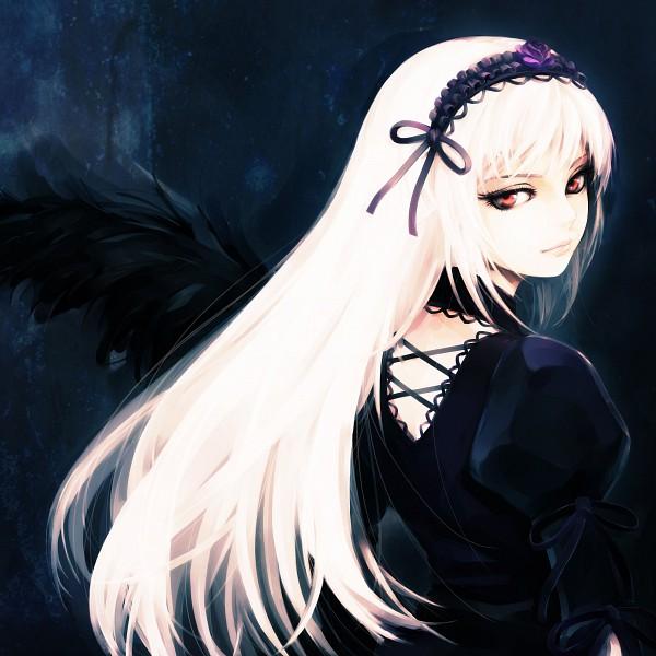 Tags: Anime, Hironox, Rozen Maiden, Suigintou, deviantART