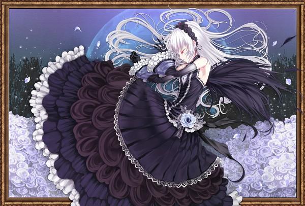 Tags: Anime, Shiokonbu, Rozen Maiden, Suigintou, Fanart From Pixiv, Fanart, Pixiv