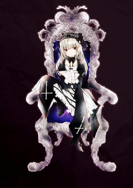 Tags: Anime, Pixiv Id 2911917, Rozen Maiden, Suigintou, Ball Jointed Doll, Fanart From Pixiv, Fanart, Pixiv, Mobile Wallpaper