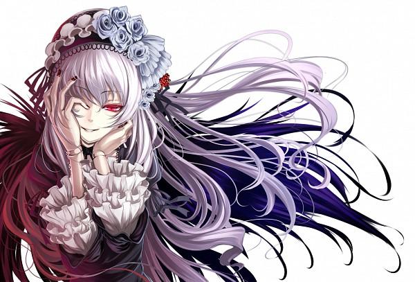 Tags: Anime, Shiokonbu, Rozen Maiden, Suigintou, Hand Over One Eye, Ball Jointed Doll, Fanart, Pixiv