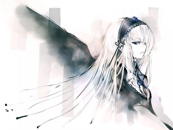 Tags: Anime, KEI (Pixiv4088), Rozen Maiden, Suigintou, Pixiv
