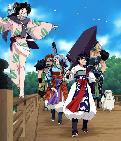 Inuyasha Jakotsu And Naraku: Zerochan Anime Image Board