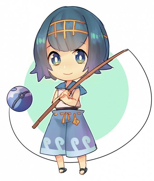 Tags: Anime, Llicornia, Pokémon Sun & Moon, Pokémon, Suiren (Pokémon), Fanart, Tumblr, PNG Conversion