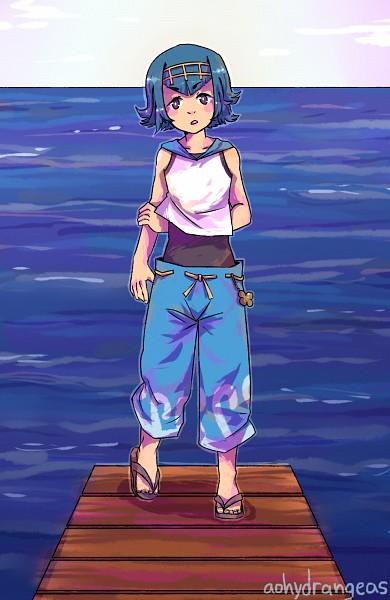 Tags: Anime, Pixiv Id 18988997, Pokémon Sun & Moon, Pokémon, Suiren (Pokémon), Fanart, Fanart From Pixiv, PNG Conversion, Mobile Wallpaper, Pixiv