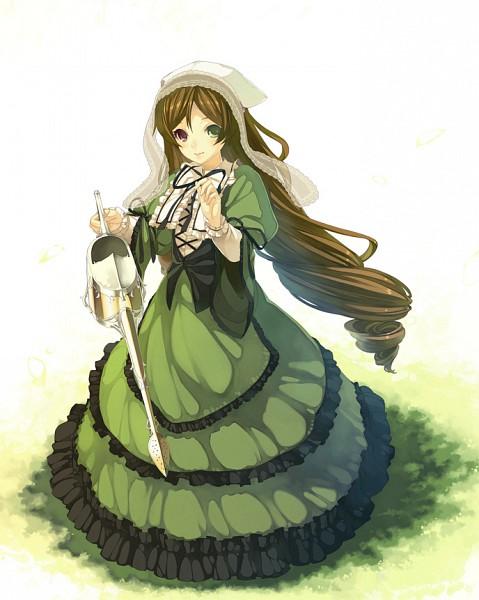 Tags: Anime, Shiranagi Masa, Rozen Maiden, Suiseiseki, Watering Can, Fanart, Pixiv