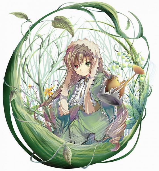 Tags: Anime, Yamamoto Nori, Rozen Maiden, Suiseiseki, Watering Can