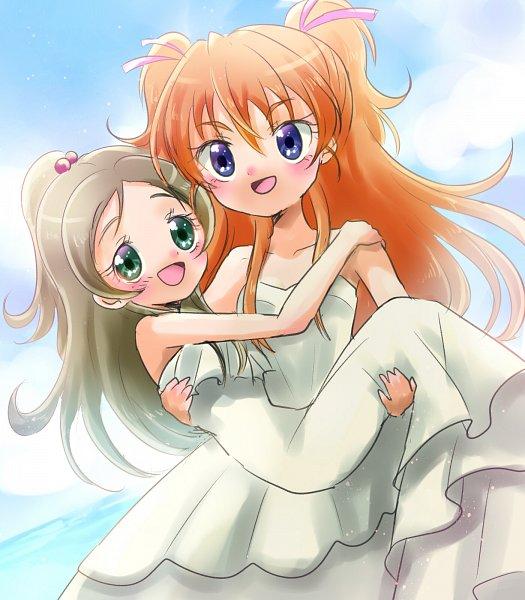 Tags: Anime, Pixiv Id 1706251, Suite Precure♪, Minamino Kanade, Hojo Hibiki, Fanart, Twitter, Pixiv, Fanart From Pixiv