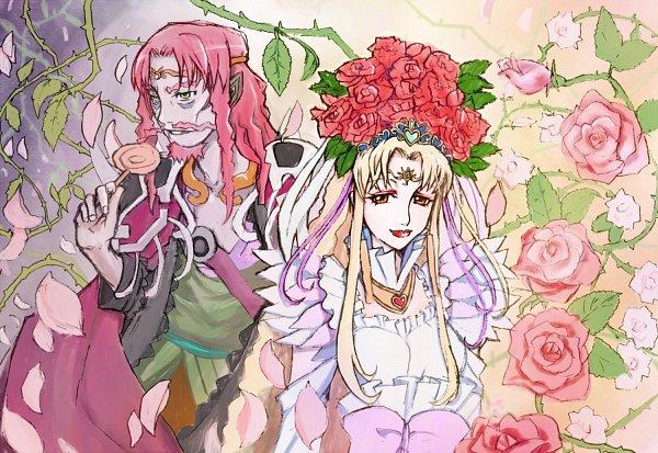 Tags: Anime, Amawa Kazuhiro, Suite Precure♪, Aphrodite (Suite Precure), Mephisto, Fanart, Fanart From Pixiv, Pixiv