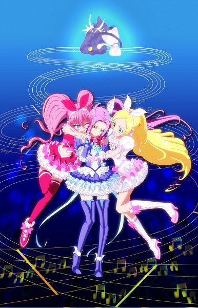 Tags: Anime, Pixiv Id 1983252, Suite Precure♪, Minamino Kanade, Kurokawa Eren, Hojo Hibiki, Cure Beat, Cure Rhythm, Seiren (Suite Precure), Cure Melody, Hummy, Fanart From Pixiv, Pixiv
