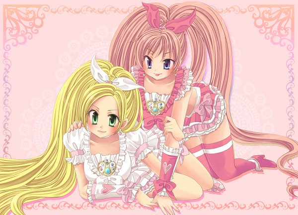 Tags: Anime, Suite Precure♪, Cure Melody, Minamino Kanade, Hojo Hibiki, Cure Rhythm