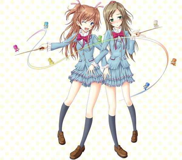 Tags: Anime, Pixiv Id 110374, Suite Precure♪, Lali (Suite Precure), Reri (Suite Precure), Sori (Suite Precure), Dori (Suite Precure), Miri (Suite Precure), Minamino Kanade, Fari (Suite Precure), Hojo Hibiki, Shiri (Suite Precure), Fairy Tones