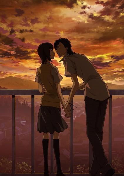 Tags: Anime, ZEXCS, Suki-tte Ii na yo., Kurosawa Yamato, Tachibana Mei, Scan, Official Art, Mobile Wallpaper, Say