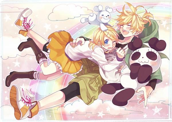 Tags: Anime, Shiroyama Ayako, VOCALOID, Kagamine Len, Kagamine Rin, Pixiv, HoneyWorks, Suki Kirai, Kagamine Mirrors, Like Dislike