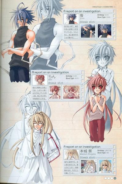 Tags: Anime, Tsutae Yuzu, Suki na Mono wa Suki Dakara Shouganai!!, Honjou Matsuri, Yoru (Sukisho), Ran (Sukisho), Character Sheet, Sukisho