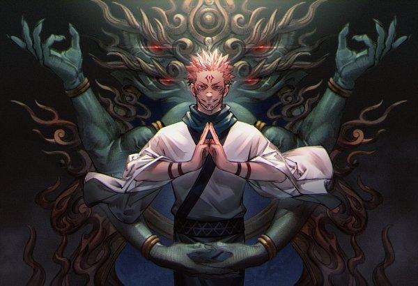 Tags: Anime, Pixiv Id 6441597, Jujutsu Kaisen, Sukuna (Jujutsu Kaisen), Fanart From Pixiv, Pixiv, Fanart