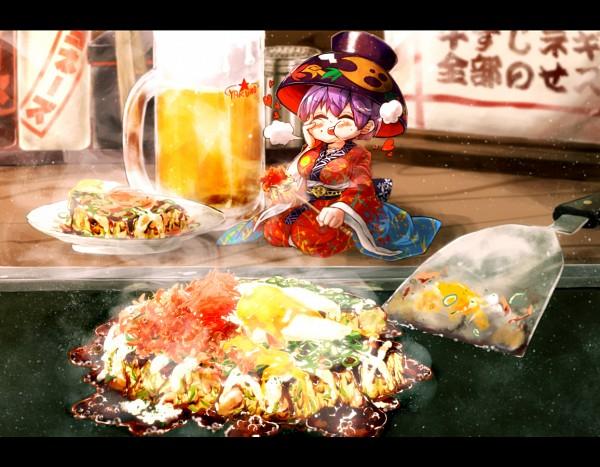 Tags: Anime, Pixiv Id 165881, Touhou, Sukuna Shinmyoumaru, Pancakes, Okonomiyaki, PNG Conversion, Pixiv, Fanart From Pixiv, Fanart, Shinmyoumaru Sukuna