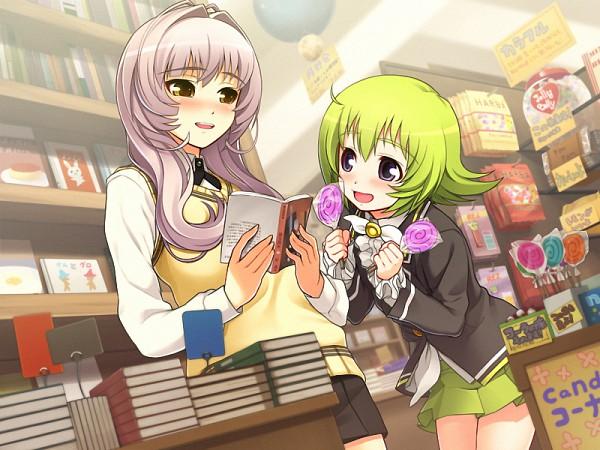 Tags: Anime, Nitro+, Sumaga, Deneb (Sumaga), Capella (Sumaga), CG Art