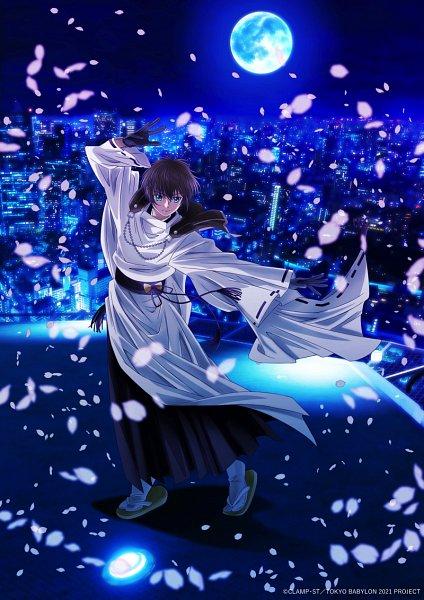 Tags: Anime, Furuta Makoto, GoHands, Tokyo BABYLON, Tokyo Babylon 2021, Sumeragi Subaru (X), Motion Blur, Official Art, Key Visual, Twitter