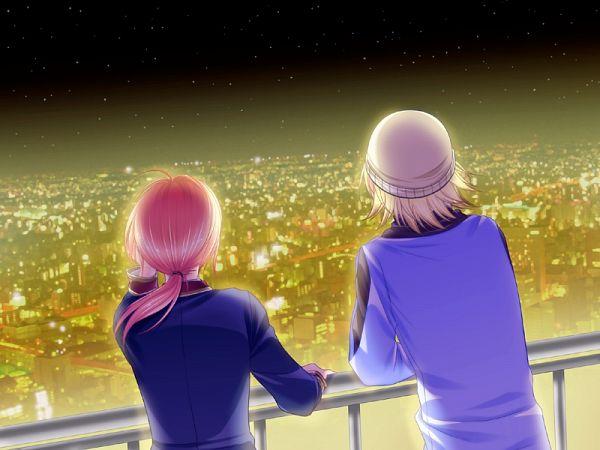 Tags: Anime, Mirai-soft, Sumire no Tsubomi, Hayasaka Satsuki (Sumire no Tsubomi), Yuki (Sumire no Tsubomi), CG Art