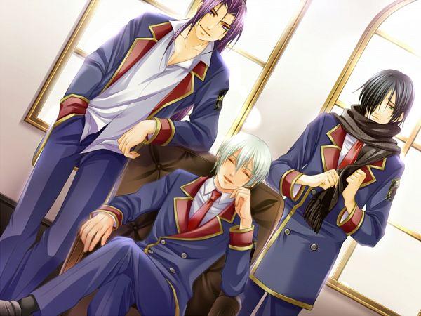 Tags: Anime, Mirai-soft, Sumire no Tsubomi, Kusakabe Haru, Azuma Seiichirou, Yanagi Touwa, CG Art