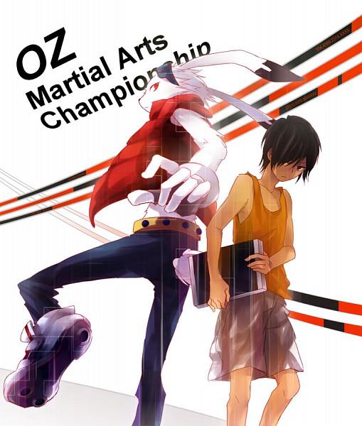Tags: Anime, Enuenu Natsumi, Summer Wars, King Kazma, Ikezawa Kazuma, Pixiv, Fanart