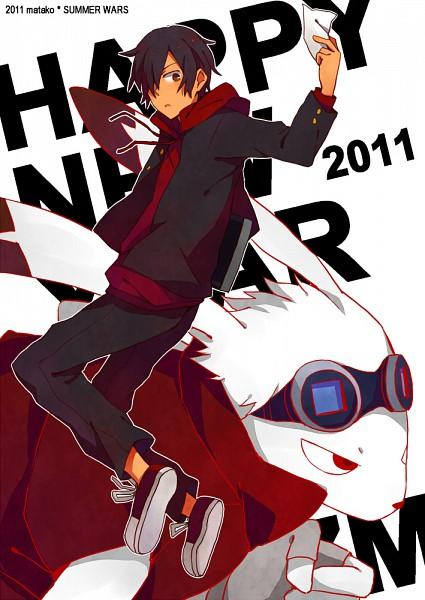 Tags: Anime, Nekomatako, Summer Wars, King Kazma, Ikezawa Kazuma, Mobile Wallpaper