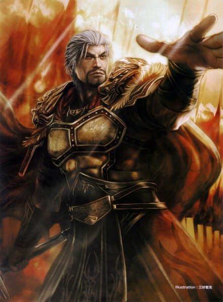 Tags: Anime, Koei, Dynasty Warriors, Sun Jian, Official Art