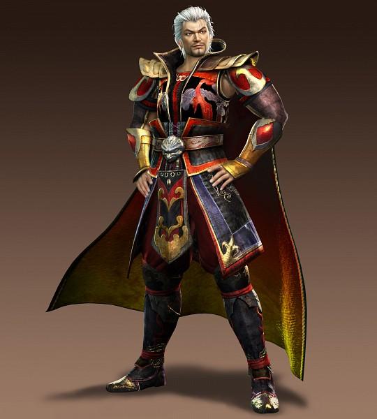 Tags: Anime, Koei, Dynasty Warriors, Sun Jian, 3D, Official Art