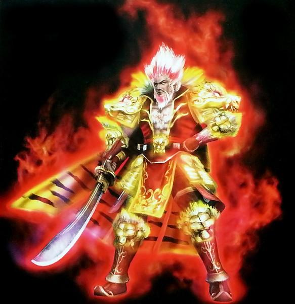 Tags: Anime, Koei, Dynasty Warriors Strikeforce, Dynasty Warriors, Sun Jian, PNG Conversion, Official Art