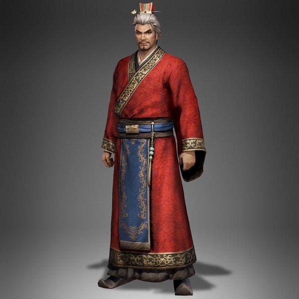 Tags: Anime, Koei, Dynasty Warriors, Sun Jian, Official Art, 3D